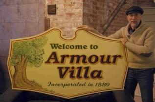 Armour Villa sign