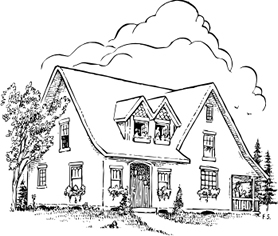 house drawings frank smith signs