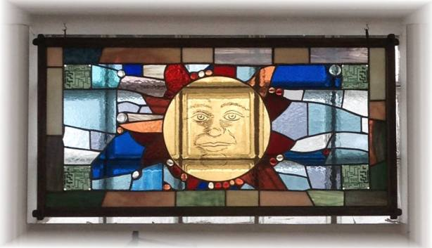 Stained glass at High Peaks Solar in Wynantskill.jpg