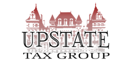 Upstate Tax Group logo by Frank Smith, Albany NY
